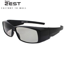 ZEST Polarized 3D Glasses For Movie TV DVD LCD Video Game Theatre