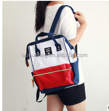 Korea style Teenage Students bags Best Selling Custom School Bag