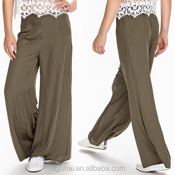 Brilliant High Waist Pants Khaki Pants Women Beauty High Quality Loose Pants