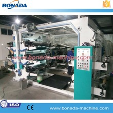 Good Quality Hot Sale Roll to Roll Stack Type Plastic Film Shopping Bag Flexo Printing Machine/Flexographic Printing Machine