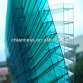 UV protection polycarbonate hollow pc sheet in greenhouse in China