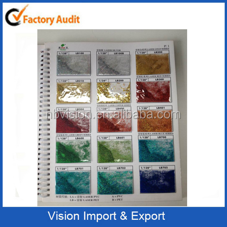 High-Quality Colorful Powder Glitters for Glass Arts/crafts for Promotion