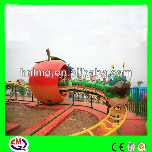 Amusement electric train ride with trailer ride on car children games