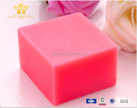 Facial beauty handmade soap with rose essential oil