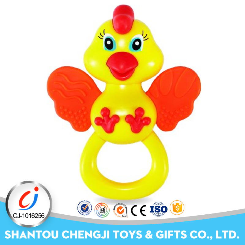 China wholesale small educational rattle plastic toy birds