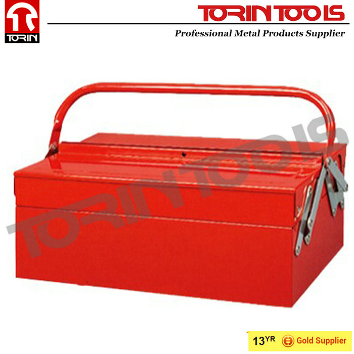 New Products Cantilever Metal Mechanic Tool Box Set With Trays