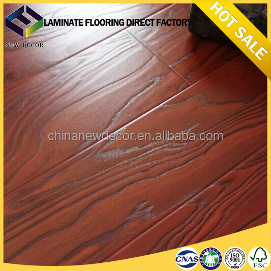 12mm 11mm oak engineered laminate flooring with 3 strips
