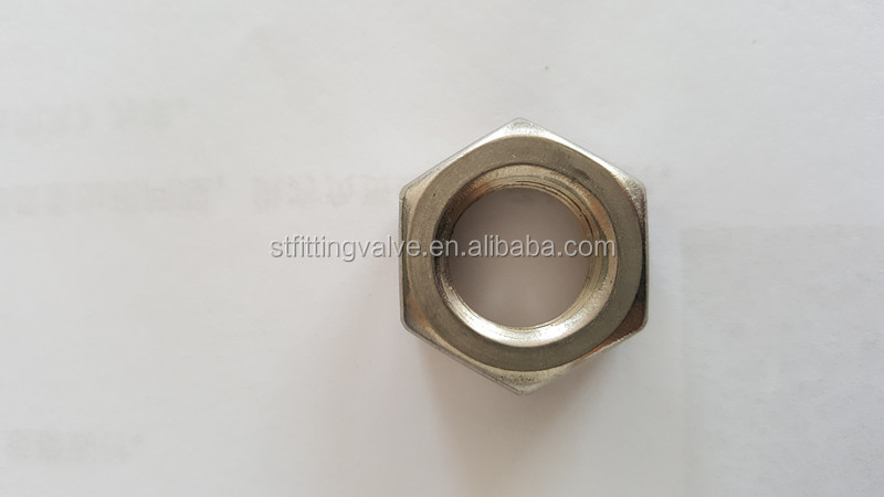 Stainless Steel 304 Locknut,150lb Pipe Fittings