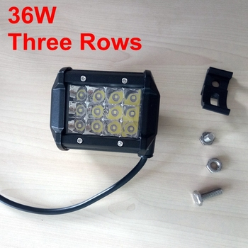 3 ROWS led work lamp supply high brightness car led work light lamp