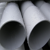 "lightweight 6"" diameter plastic pipe pvc water pipe prices"