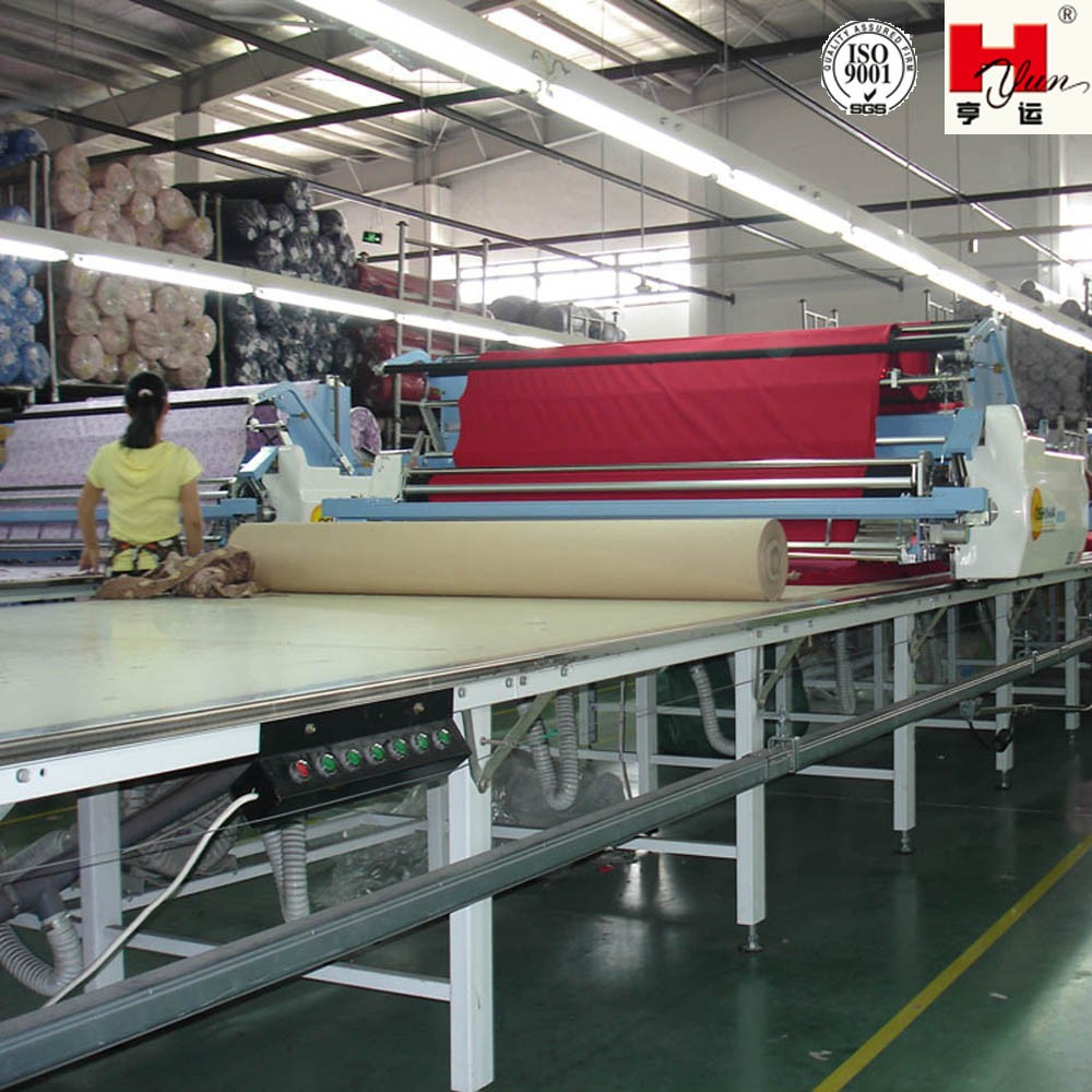 Custom Made Industrial Garment Fabric Cutting Table for Spreading Machine