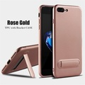 Hot Selling Hidden Bracket TPU Phone Case For iPhone 7 Plus/8 Plus, For iPhone 7 Plus/8Plus Case TPU