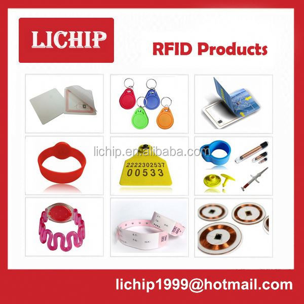 plastic high quality rfid smart key fob