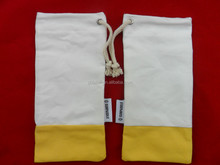 cheap wholesale cotton drawstring hard glasses case for women