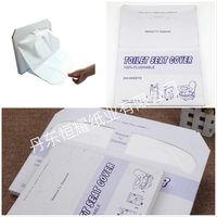 Health disposable and travelling paper toilet seat cover