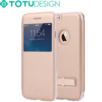 TOTU New Metal Holder Stand Design Flip Luxury Mobile Phone Cases For iPhone 6s
