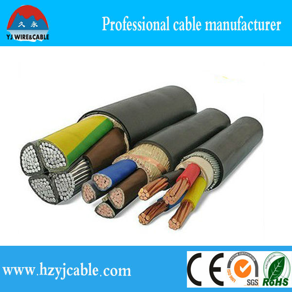 PVC/PE insulated Electric China manufacture aluminum cable/Electrical wire prices/copper conductor wire