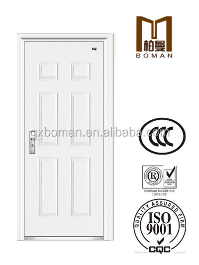 20years factory wholesaler price for CCC certificated Steel entry / unequal double fireproof door