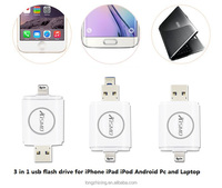 64GB i-Flash Drive External memory for iPhone5 fo iPhone6 for iPad Android PC Laptop