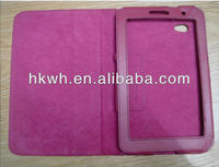 Promotion! 7 inch 7inch tablet case with buckle, PU leather material