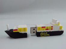 novelties goods from china boat usb flash drives bulk cheap, full capacity boat usb drive, Wholesale boat usb key