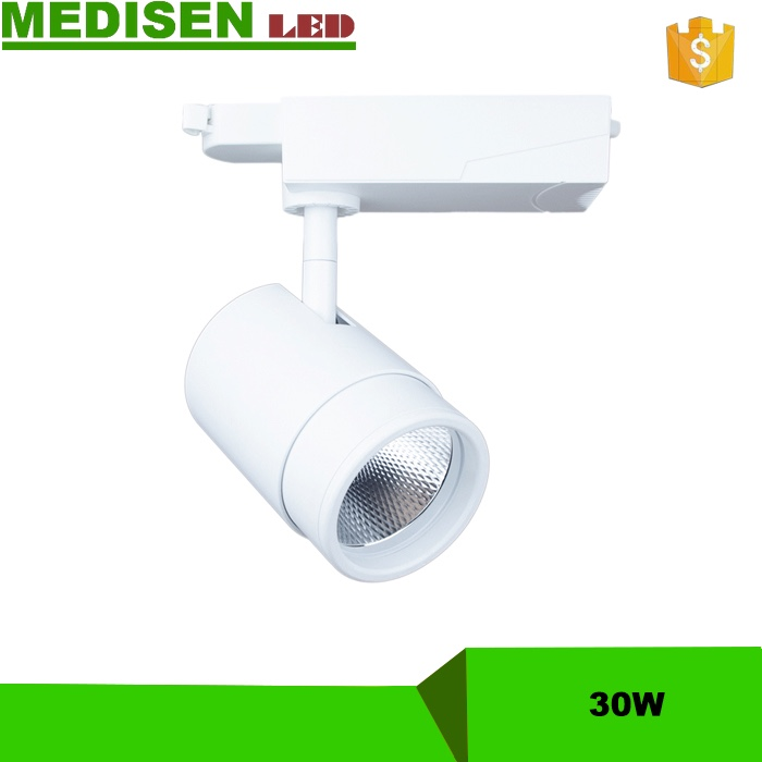 MEDISEN-Shenzhen manufacturer high power cob dimmable 50w led track light jewellery shop spot light