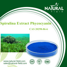 High Active ingredients natural spirulina extract phycocyanin