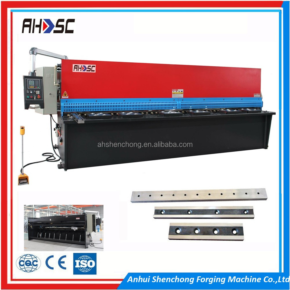 EURO Design QC12K 6x3200mm Metal Sheets Hydraulic Plate Shearing Machine of ACL, Yangli, Yawei, YSD,