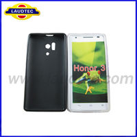 Laudtec New Arrival Products Jelly Soft Tpu Phone Case for Huawei Honor 3