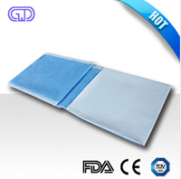 Disposable medical safety back table cover for operation