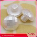 white/ black imitation pearl buttons with shank for lady's clothes