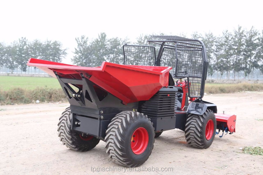 4x4 2T oil palm farm tractor with after sales 24 months