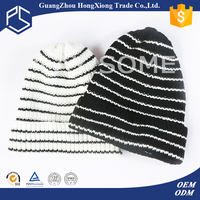 Desigh your own high quality black and white russian winter hat