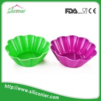 China manufacturer silicone cake mould cookie cup