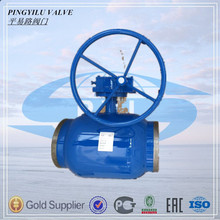 gas pipeline Full welded st37 Ball valve for heating supply alibaba