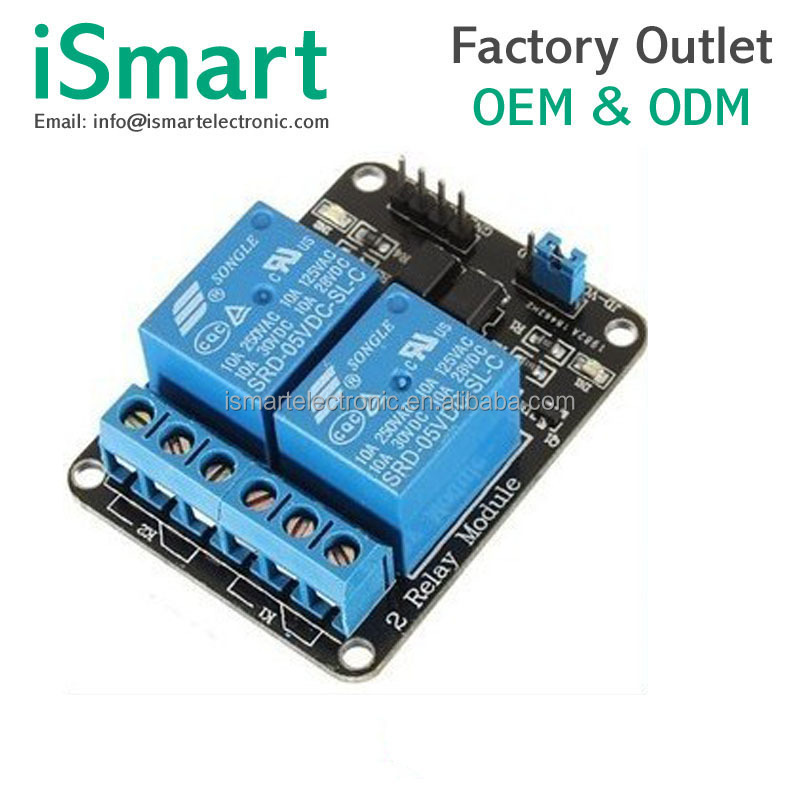 2 way relay module with optocoupler relay expansion board MCU development board DC12V