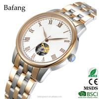 40mm stainless steel case men watch mechanical automatic japan movement