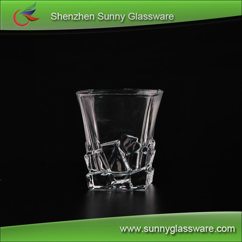 Hot sale crystal whiskey glass cups