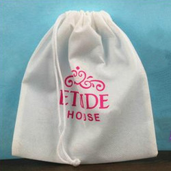 2015 newest promotional cheap plain drawstring bags