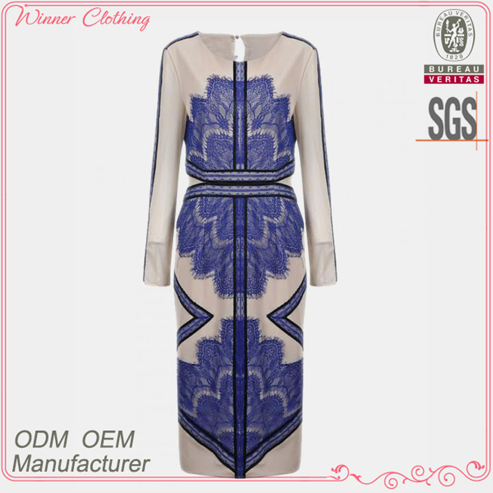 Newest styles high fashion hot sell classy sexy womens dress