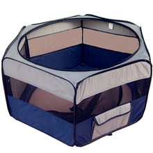 Portable pop up pet bed tent for small animal