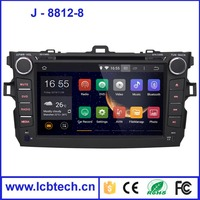 High definition android car dvd player dvd player for car car dvd gps 8812-8 with Multi-function OSD menu, multiple language