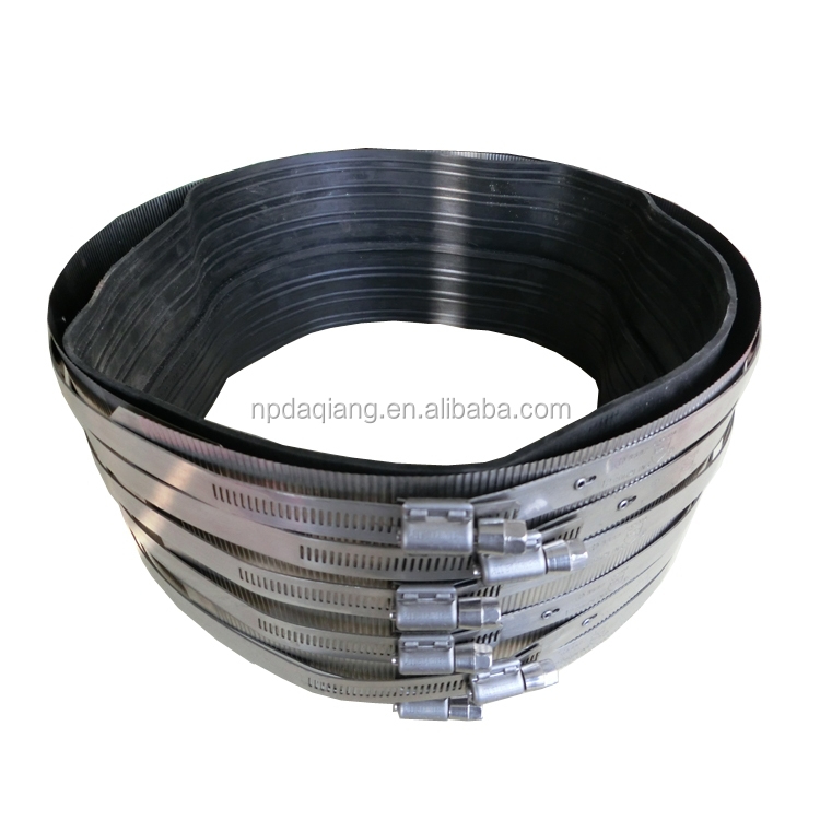 8 Inch Heavy Duty A Type No Hub Rubber Flex Coupling with SS304