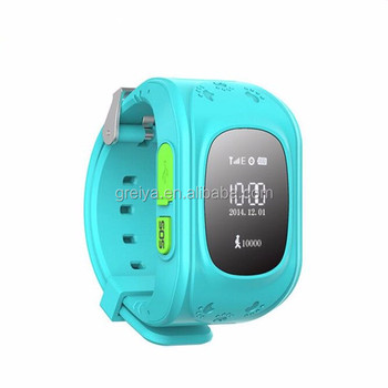 High quality gps tracker watch for child gsm sos wrist kids watch ce fcc rohs