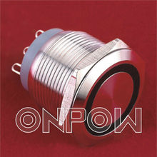 ONPOW push button switch / micro switch(GQ19-11W,GQ22-11W series,CE,CCC,ROHS,IP67)