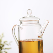 Made of heat resistant, lead-free lab grade borosilicate glass, no metal or plastic parts.Glass Tea pot