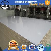 raw mdf sheet 4x8 melamine laminated mdf board for skirting