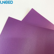 PVC laminated woven tarpaulin roll purple plastic tarpaulin for sale wholesale cheap waterproof tarpaulin