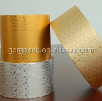 Candy wrapping aluminum foil paper,printed foil for candy,embossed foil for chocolate with FDA certificate factory price