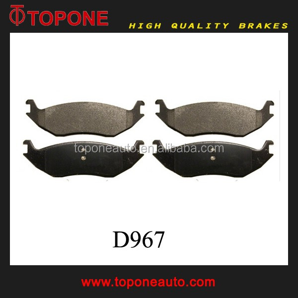 Brake Pad For CHRYSLER Aspen FOR DODGE TRUCK D967